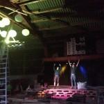 Faxn auf der Schopf-Bühne